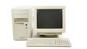 old desk top computer